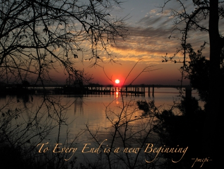 To Every End is a New Beginning